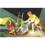 山西绿色聚乙烯井盖安全防坠网 白色丙纶防坠网 建筑防坠网--中国采招网