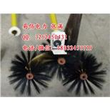 【设备电动清扫刷厂家】专业加工定制清扫变压器3个刷头电动清扫刷--中国采招网